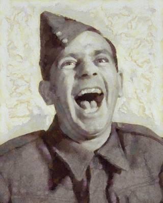 Norman Wisdom, British Comedy Actor Art Print
