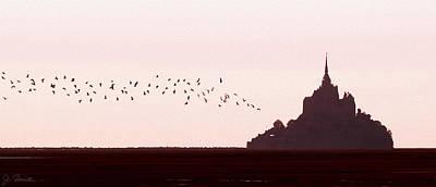 Photograph - Normandy Dusk by Joe Bonita