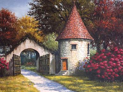 Normandy Garden Art Print by Sean Conlon