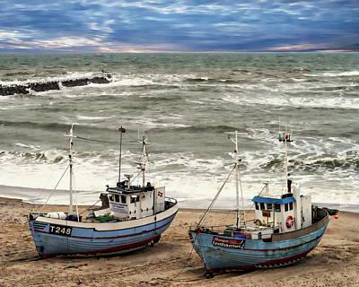 Photograph - Norre Vorupor Beach by Anthony Dezenzio