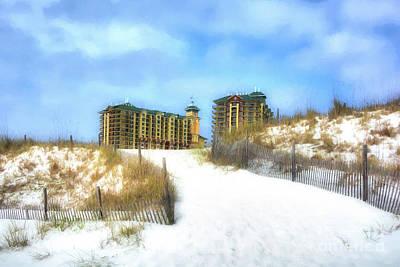 Photograph - Norriego Point Sand Dunes by Mel Steinhauer