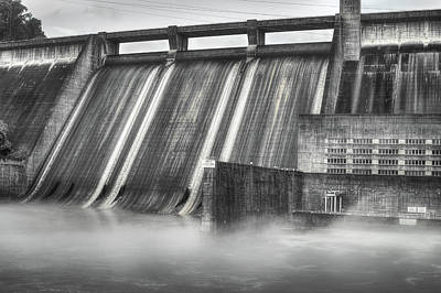 Photograph - Norris Dam by Mike Eingle