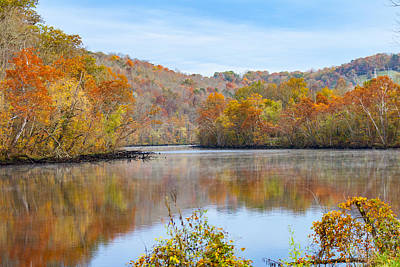 Photograph - Norris Dam State Park by Melinda Fawver
