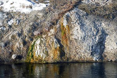 Photograph - Norris Geyser Basin Area by Harvey Barrison