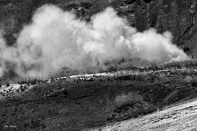 Photograph - Norris Geyser by Blake Richards