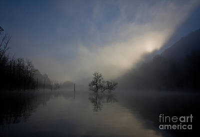 Norris Lake April 2015 Art Print by Douglas Stucky