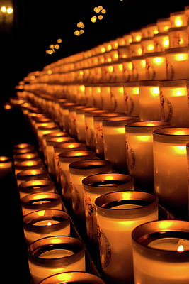 Photograph - Norte Dame Candles  by Alexis Lee Scott