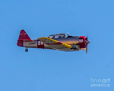 Photograph - North American At-6 by Nick Zelinsky
