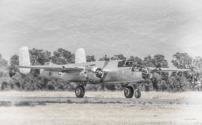 Photograph - North American B-25 by Douglas Castleman