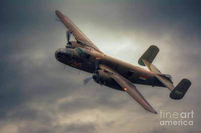 North American B-25 Mitchell Bomber Art Print