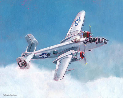 Painting - North American B-25 Mitchell by Douglas Castleman