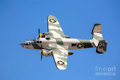 North American B-25 Mitchell Art Print by Rick Mann