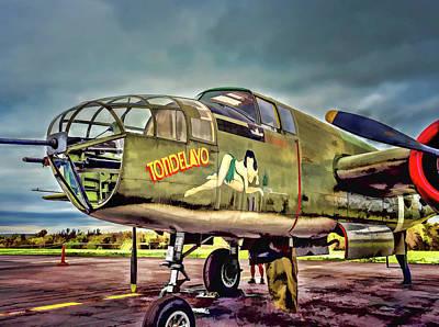 North American B-25 Mitchell V5 Art Print