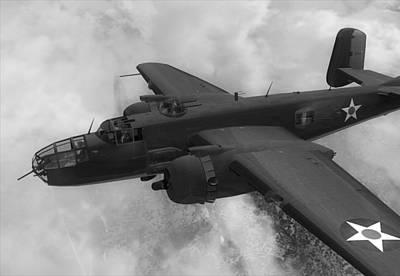 North American B-25j Usa Art Print
