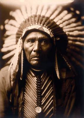 Photograph - North American Indian Series 2 by Carlos Diaz
