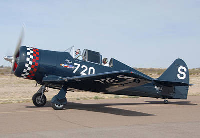 Casa Grande Photograph - North American Na-50 Replica Lone Eagle N202ld Casa Grande Airport Arizona March 5 2011 by Brian Lockett