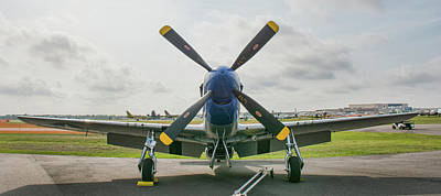 Photograph - North American P-51d Mustang by John Black