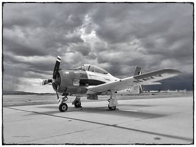 Photograph - North American T-28 by Douglas Castleman