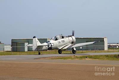 North American T6 Texan Military Aircraft 7d15784 Art Print