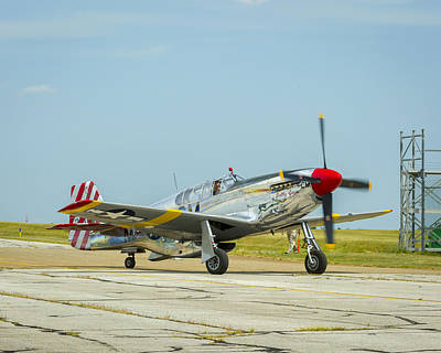 Photograph - North American Tp-51c Mustang by Jack R Perry