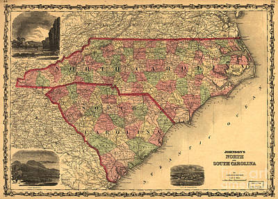 Photograph - North And South Carolina by Dale Powell