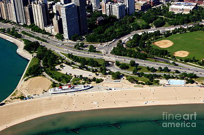 Photograph - North Ave Beach by Bill Lang