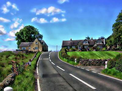 Photograph - North Ayrshire, Scotland by Anthony Dezenzio
