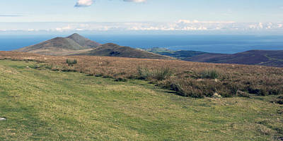 Photograph - North Barrule And Maughold Head by Steve Watson