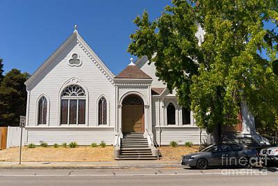 Photograph - North Bay Revival Center Church Petaluma California Usa Dsc3793 by Wingsdomain Art and Photography