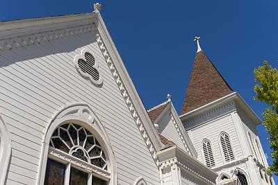 Old Christ Church Photograph - North Bay Revival Center Church Petaluma California Usa Dsc3819 by Wingsdomain Art and Photography