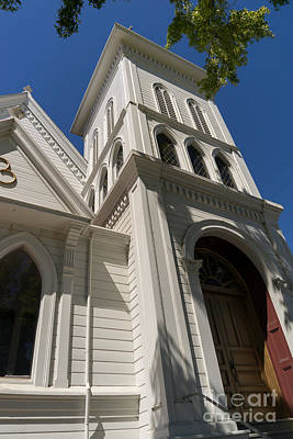 North Bay Revival Center Church Petaluma California Usa Dsc3820 Art Print by Wingsdomain Art and Photography