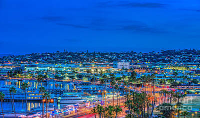 Photograph - North Bay San Diego by David Zanzinger