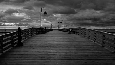 Chesapeake Bay Photograph - North Beach Pier by Joseph Smith