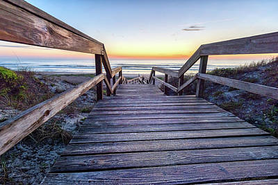 Photograph - North Beach Sunrise by Stacey Sather