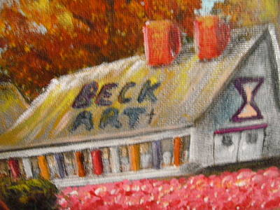 Becky Mixed Media - North Beckartt Studio's by Becky Jenney