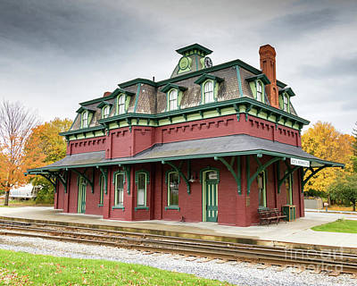 Photograph - North Bennington Station by Phil Spitze