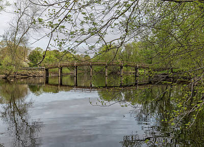 Photograph - North Bridge Concord Massachusetts by Brian MacLean