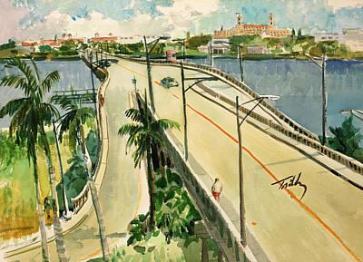 Painting - North Bridge by Thomas Tribby