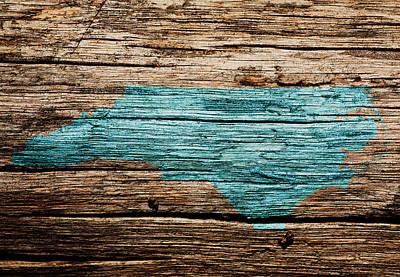 The Trees Mixed Media - North Carolina 1w by Brian Reaves