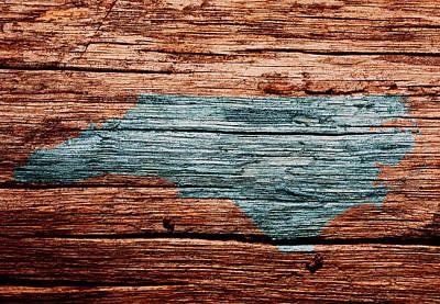 The Trees Mixed Media - North Carolina 3w by Brian Reaves