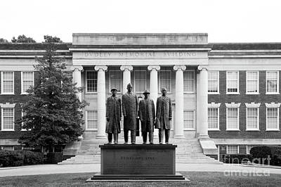 Photograph - North Carolina A And T State Dudley Memorial Building by University Icons