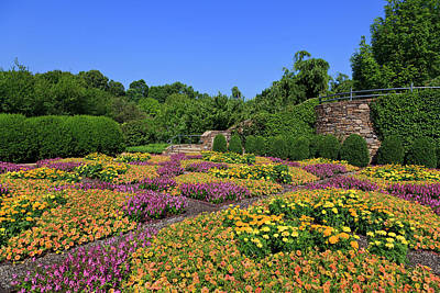 Photograph - North Carolina Arboretum Quilt Garden by Jill Lang