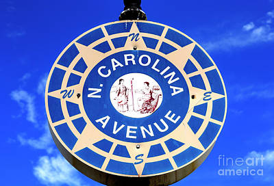 Photograph - North Carolina Avenue Atlantic City by John Rizzuto