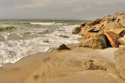 Photograph - North Carolina Beach by Don Wolf