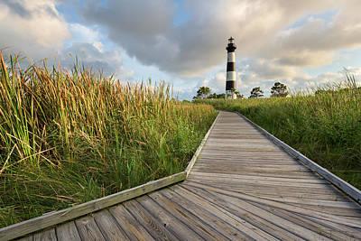Photograph - North Carolina Bodie Island Lighthouse Summer by Mark VanDyke