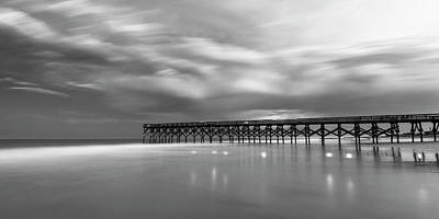 Photograph - North Carolina Crystal Pier Panorama by Ranjay Mitra