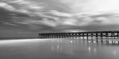 Photograph - North Carolina Crystal Pier Panorama by Ranjay Mitra