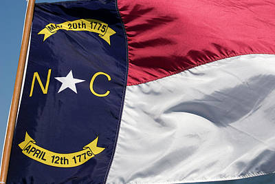 Photograph - North Carolina Flag by Jill Lang