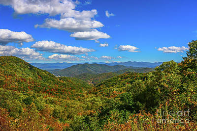 Photograph - North Carolina Mountain View by Tom Claud