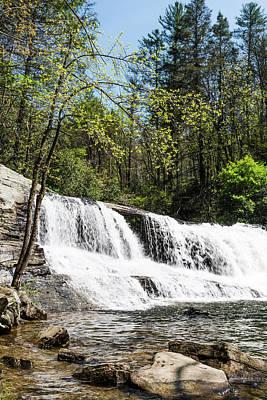 Photograph - North Carolina Mountain Waterfall by Tammy Ray